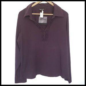 ⭐SALE ⭐ Purple V-neck Top